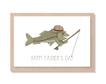 Father's Day Fish Card