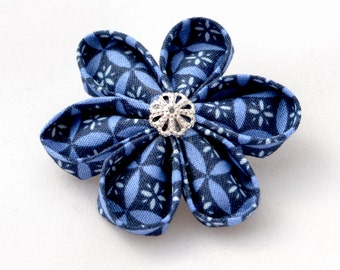 PIN origami flower blue