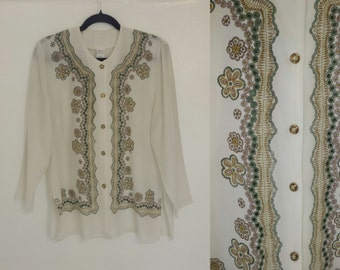 Bohemian Vintage Peasant Shirt