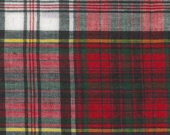Christmas Tartan Fabric -  Madras Plaid