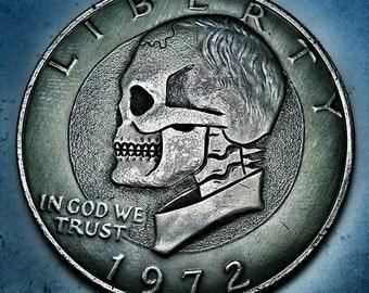 Ike Dollar Skull - Made To Order