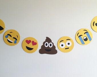 Emoji banner garland!