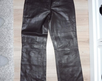 FEATURES leather pants size 34 (W24 US)