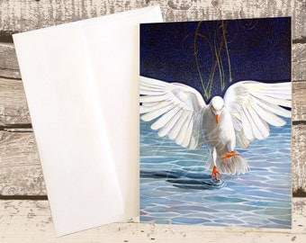 The Dove Note Card