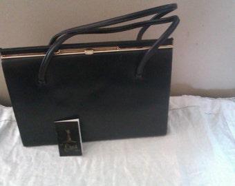 EROS real leather handbag
