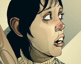 The Shining Art Print - Shelley Duvall as Wendy Torrance