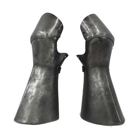 Larp Armor Medieval Mitten Gauntlets.