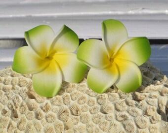 Flower Orchid earrings