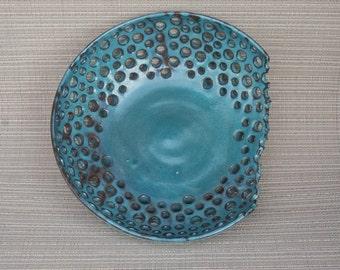 Pottery,handmade,handmade pottery,berry bowl,fruit bowl,decor bowl,pottery fruit bowl,pottery decor bowl,turquoise fruit bowl,turquoise bowl