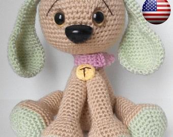 """Amigurumi dog """"TAMTAM""""  pattern(English)"""