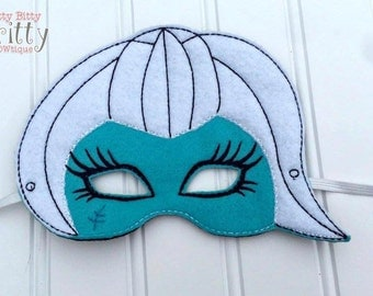 Frankie Stein - Monster high inspired mask