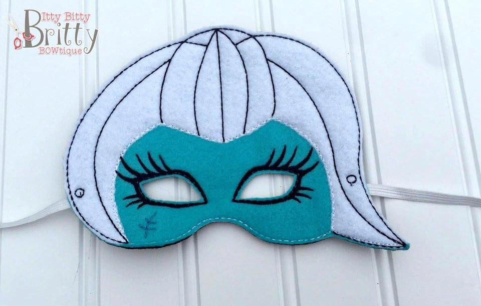 Frankie stein monster high inspired mask - Masque monster high ...