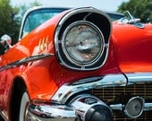 1957 Chevy Bel Air Photo, Classic Car Photography, Automobile Print, Chevy Photo, Bel Air, Chevrolet