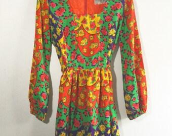 Girls Boho Dress - Vintage Boho Dress - Señorita Rose Dress