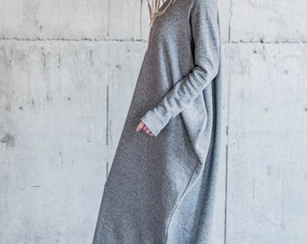 dress with asymmetric sides