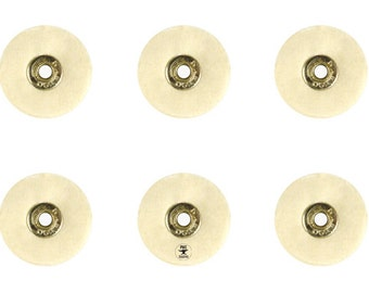 Set of 4 Unmounted Soft Felt Brushes - 25 x 1P Jewelry Polishing Metal Finishing Rotary Tool - BRUS-0033