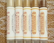 All Natural Concealer - Camouflage Concealer- Healing Cover Up - CANDID ROUGE