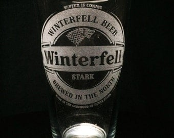 Winterfell - Game of Thrones - Pint Glass