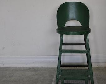 Vintage Metal Step High Chair & Metal high chair | Etsy islam-shia.org