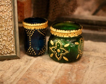 Bohemian Lanterns /Tea Candle Holders / Colorful Candle Holders