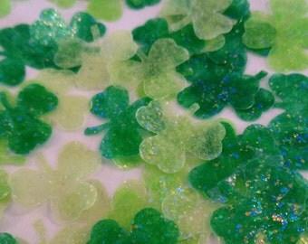Shamrock Confetti, St. Patrick's Day Confetti, St. Patrick's Party, St. Patrick's Day Decorations, Irish Wedding, Celtic Wedding, Irish
