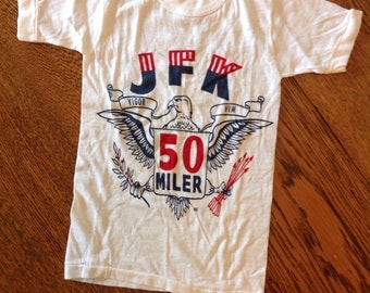 Vintage JFK 50 Miler Vigor and Vim tshirt.