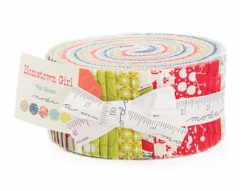 In Stock Now: Hometown Girl - Jelly Roll by Pat Sloan for Moda