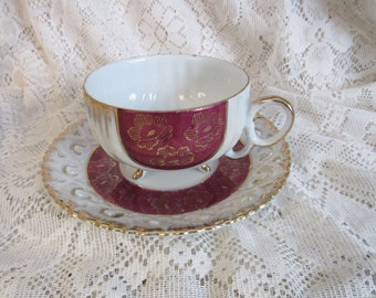 Versailles Porcelaine Cup and Saucer