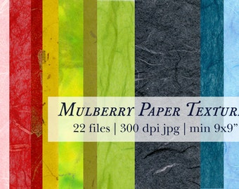 Mulberry Paper high res texture pack Digital Download