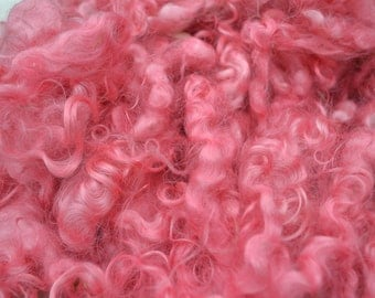 Pink Dyed Mohair