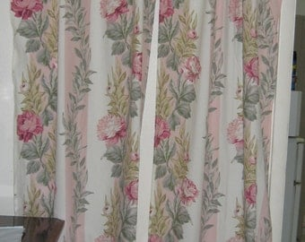 Beautiful Shabby Chic/Cabbage Roses Curtains