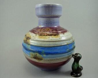 Vintage vase / Carstens Toennishof / 7608 20 / purple | West Germany | WGP | 70s