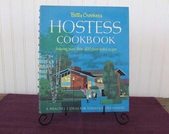 Betty Crocker's Hostess Cookbook, Vintage Cookbook, 1967