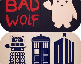 Dr Who Decal