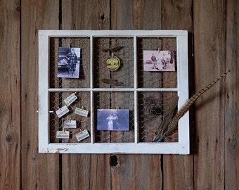 6-Panel Barn Window Photo Display