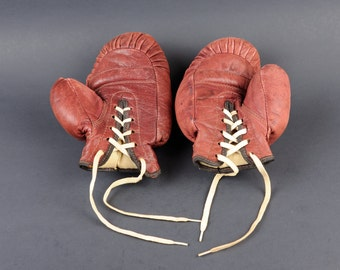 Vintage Kids Boxing Gloves - Leather