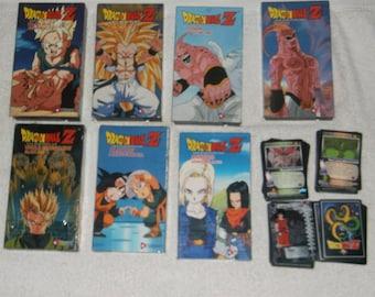 VHS-dragonball Z-lot of 8-1990s-GD
