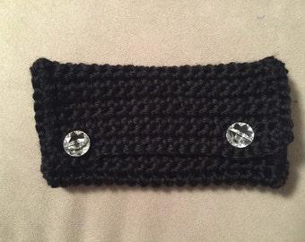 Handmade Crocheted Mini-Clutch