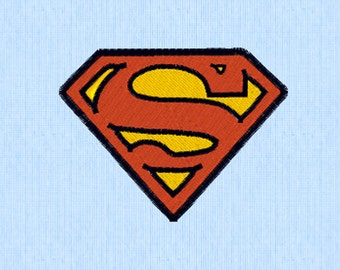 Superman Embroidery Design