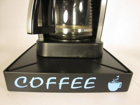 Cuisinart Coffee Maker Overflows : Items similar to Coffee Overflow Deck Station with the words Coffee applied in vinyl on Etsy