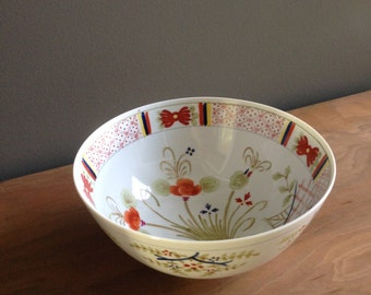 REDUCED Beautiful large Asian porcelain  bowl