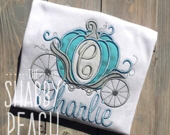 Cinderella Carriage Applique Onesie or Shirt