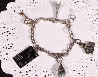 Love To Travel Charm Bracelet