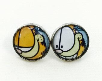 Garfield Earring (No.1)
