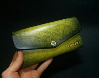 Leather Wallet - Vegetable leather pouch,Wallet,Women wallet,Pouch,Purse,handmade,womens wallet,ladies wallet,mini clutch,leather clutchbag