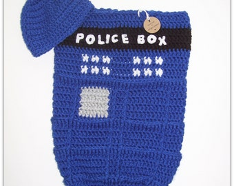Baby Cocoon - Tardis - Police Box
