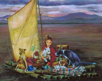 Kathryn's Drift Limited Edition Giclee' print on canvas