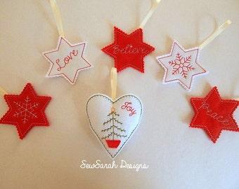 ITH Christmas Ornament Set (5x7)