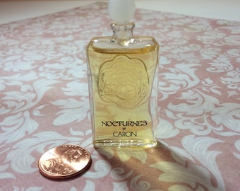 "Perfume mini ""Nocturnes"" by Caron, made in Paris"