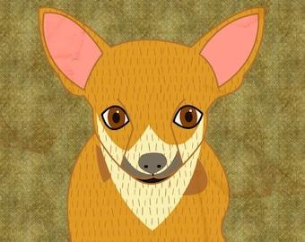 Custom pet portrait, custom dog portrait, custom family portrait, custom illustration, custom cat portrait, custom gift, wedding portrait